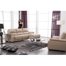 Living Room Sofa with Modern Genuine Leather Sofa Set (917)