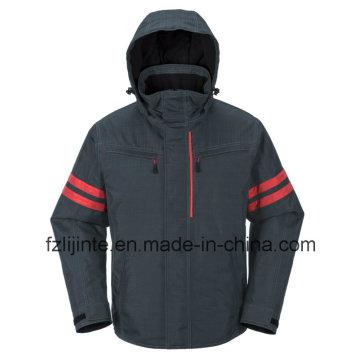 Зима промышленная спецодежды безопасности куртка с Relfective ленты