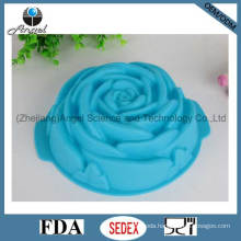 Big Rose Flower Silicone Cake Mold Silicone Cake Pan Sc08