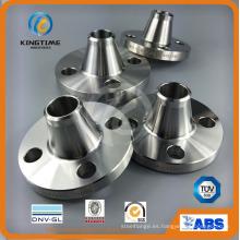 Reborde forjado del tubo del bastidor del reborde del acero inoxidable de ASME B16.5 (KT0369)