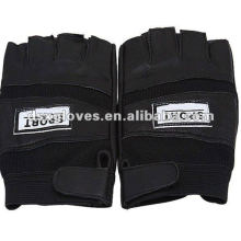Кожаные велосипедные перчатки Гонки для мужских видов спорта (DSX-P007)