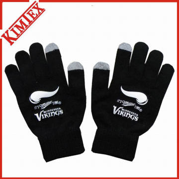 Free Size Acrylic Knitted Magic Glove for Promotion