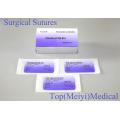 Suture chirurgicale à l'aiguille (Catgut / PGA / Nylon / Soie)