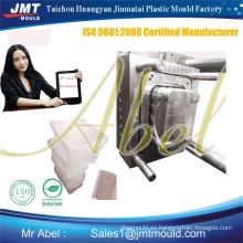Molde de caja de plástico blanca de aseguramiento del comercio