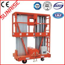 Plate-forme mobile de travail en aluminium (double mât)
