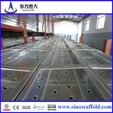 Neuer Typ Heißer DIP Galvanisierter gestanzter Stahl Walking Plank 1.2mm / 1.5mm Q195 Q235 Q345