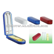 two pens plastic memo pad holder