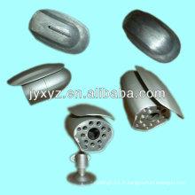 caméra de surveillance pour les accessoires en alliage d'aluminium