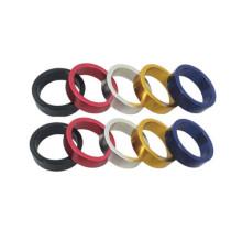 Espaçador de fone de ouvido Alumínio 10mm 1-1 / 8 em For Road Bike MTB Bicycle Stem
