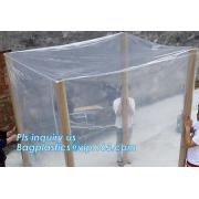Perforated Rolling Bag Pallet Cover Cargo Cover Film Machine Cover Plastic Storage Bag Agricultural Supplies Carton Liner