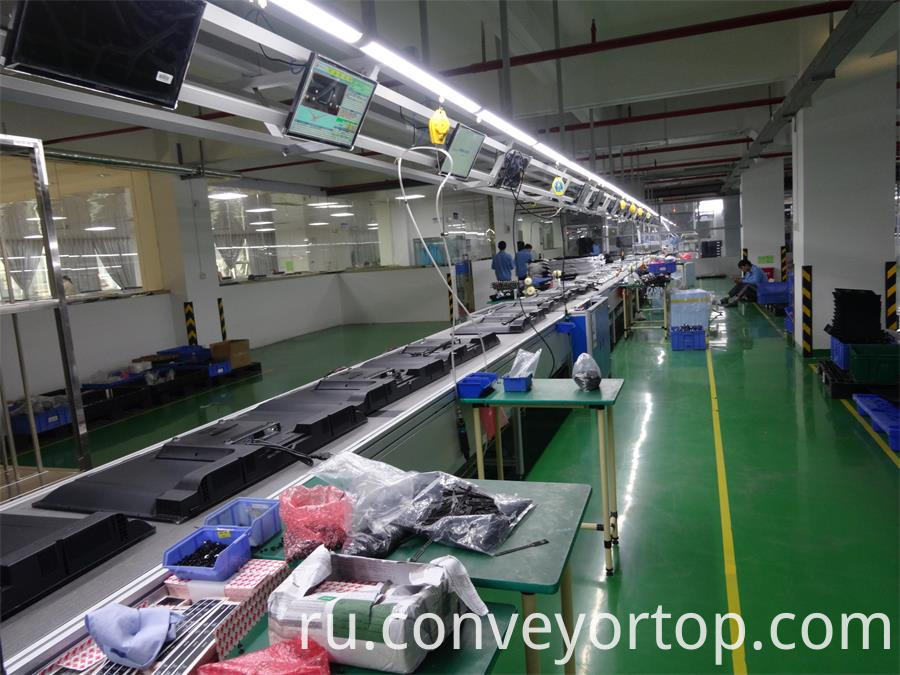 TV conveyor lines