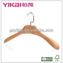beech wooden clothes hanger