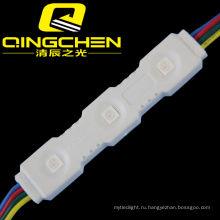 Samsung Osram 5050 3 светодиода RGB Водонепроницаемый светодиодный модуль высокой мощности
