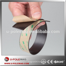 Customized 3M adhesive flexible magnetic tape