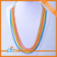 Wholesale Rainbow Necklace Promotional Items For girl's Jewelry