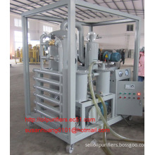 Double-stage high-efficiency vacuum Insulation oil purifier, dielectric oil filtration, oil purification, oil treatment plant