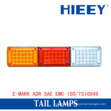 LED tail light rear combination light truck tail lamps with E-MARK approval