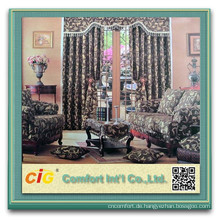 100% Polyester Sofa Chenille Fabric Jacquard Chenille für Sofa 2015