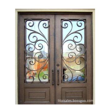 2020 Hot Sale Exterior Security Iron Door
