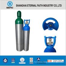 Portable Medical Oxygen Aluminum Cylinder (MT-6-6.3)