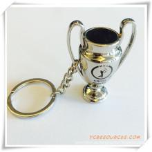 Promotion Custom Printed Metall Schlüsselanhänger mit Logo (PG03088)