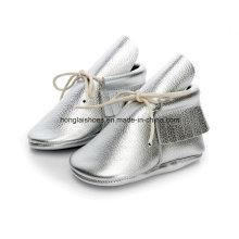 Europa Cuero Fringed Zapatos de bebé