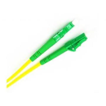 LC / APC-LC / APC Duplex Sm fibra óptica Patch Cord