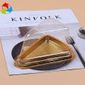 Triangle small plastic transparent cake box