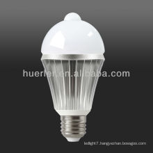 high quality with cheap price E27 led motion sensor bulb 7w