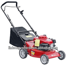 5.5Hp B&S 19inch steel deck hand push mini lawn mower,portable lawn mower