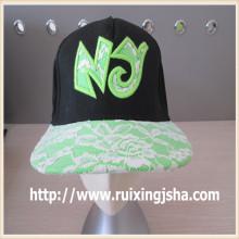 хорошее качество плоских краев snapback шляпы/кепки