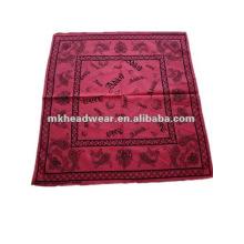 Fashional bandana 100% algodón