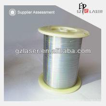 Hologramm-Sicherheit Polyester-Nähgarn für Tuch Gewebtes Etikett