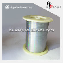 Hologram security Polyester Sewing Thread for Cloth Woven label