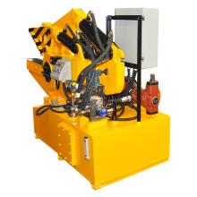 Máquina cortadora automática de metal de crocodilo em aço inoxidável