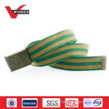 Design belt military buckle men belt