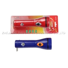 portable rechargeable plastic led torch
