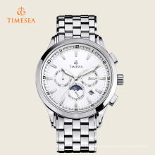 Moon Phase Luxury Chronograph Tourbillon Relojes automáticos mecánicos para hombres 72242