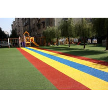 Non-slip Outdoor Playground Rubber Mats With Colored Rubber Granules