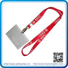 China Sublimation Printing Polyester Neck Holder Lanyard