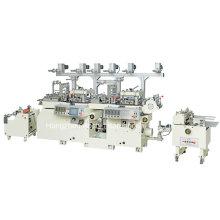 Zwei-Köpfe Automatische Fliess-Stanz-Schneid- und Folien-Stanzmaschine (MQ-320II)
