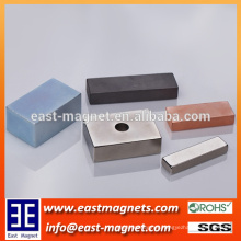 Block Neodymium Magnet with Different Coatings/custom-made plated every kinds magnet