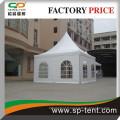 Gazebo de fête 5x5m en blanc pour des événements de fête de rassemblement extérieur