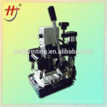Hengjin fabrique une machine d'estampage à chaud manuelle simple