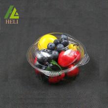 Conteneur jetable de fraise en plastique de salade de fruit