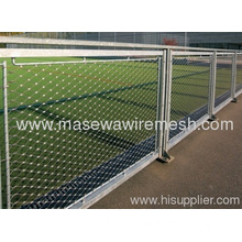 Ss Rope Mesh Stainless Steel Fencing