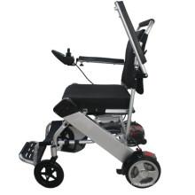 Kleine Falten Behinderte Menschen Verwenden Sie Power Rollstuhl