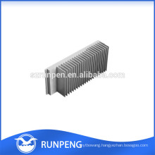 Extrusion products for aluminium heatsink