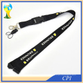 Lobster Clasp Hook Lockable Cord Stripe Elastic Black Coil Lanyard