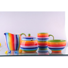 Keramik bemaltes Abendessen-Set (CZJM8510)
